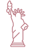 Status of Liberty icon.