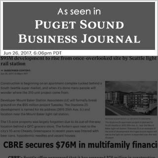 Puget Sound Business Journal news cover image June 26, 2017.