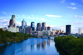 EB-5 Regional Center in Pennsylvania. Photo of downtown Pittsburgh, Pennsylvania.