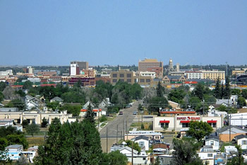 EB-5 Regional Center in Wyoming. Photo of downtown Cheyenne, Wyoming.