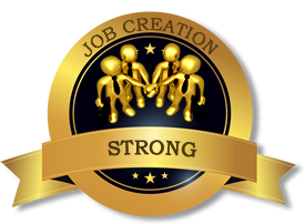 Photo of job creation stamp