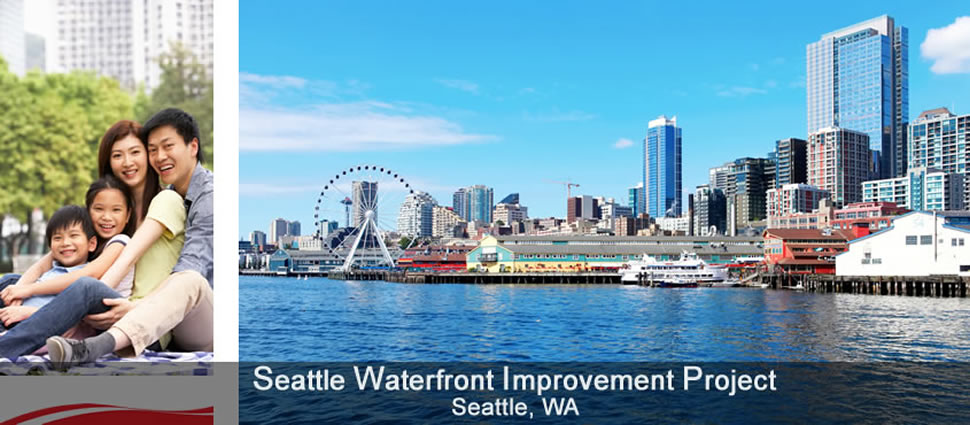 Photo of Seattle Waterfront Improvement Project