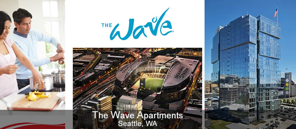 Photo of the Wave Apartments